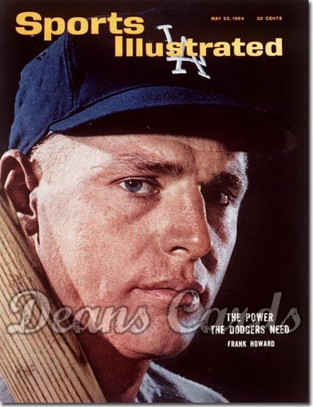 1964 Sports Illustrated - With Label   May 25  -  Frank Howard (Los Angeles Dodgers)