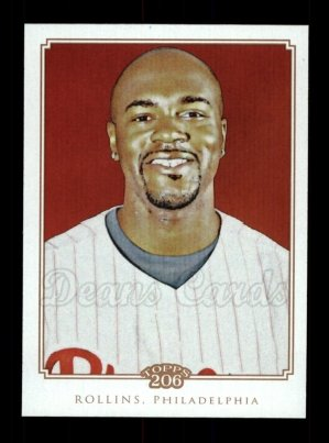 2010 Topps 206 #178  Jimmy Rollins