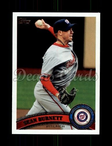 2011 Topps Update #102  Sean Burnett