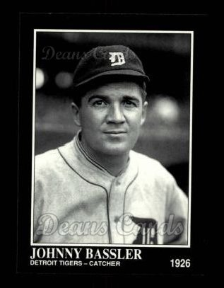 1992 Conlon #414  Johnny Bassler
