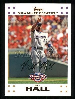 2007 Topps Opening Day #8  Bill Hall