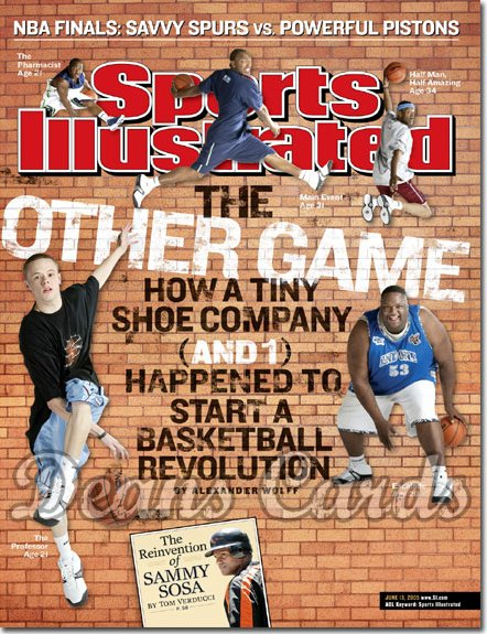 2005 Sports Illustrated   June 13  -  Hip Hop Hoops NBA Finals