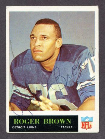 1965 Philadelphia #59  Roger Brown