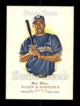 2007 Topps Allen & Ginter #66  Bill Hall