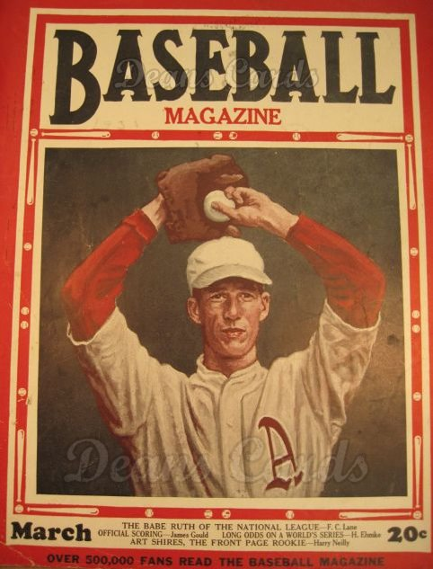 1930 Baseball Magazine    March