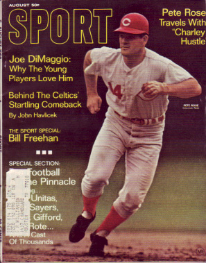 1968 Sport Magazine   -  Pete Rose  August