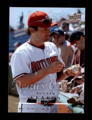 2008 Upper Deck #169  Austin Kearns