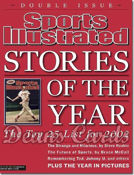 2002 Sports Illustrated   December 30  -  Stories Of The Year