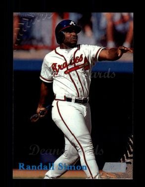 1998 Topps Stadium Club #189  Randall Simon