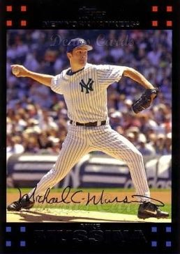 2007 Topps #452  Mike Mussina
