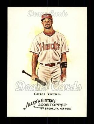 2008 Topps Allen & Ginter #126  Chris Young