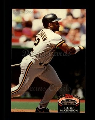 1992 Topps Stadium Club #302  Lloyd McClendon
