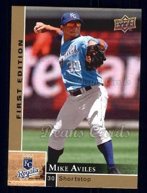 2009 Upper Deck First Edition #126  Mike Aviles