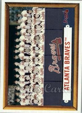 2006 Topps Heritage #114   Atlanta Braves Team