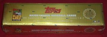 2001 Topps     Baseball Complete Factory Sealed Set