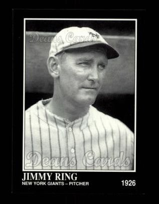 1992 Conlon #614  Jimmy Ring