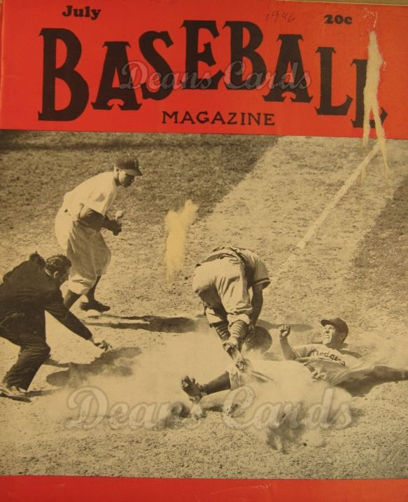 1946 Baseball Magazine    July