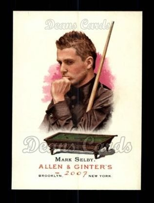 2007 Topps Allen & Ginter #124  Mark Selby