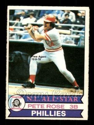 1979 O-Pee-Chee #343  Pete Rose