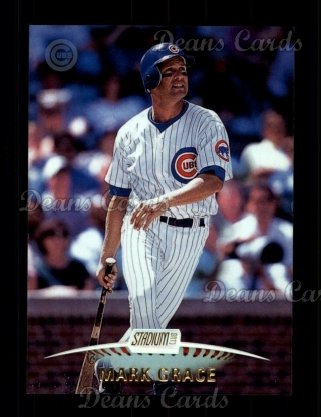 1999 Topps Stadium Club #272  Mark Grace