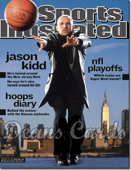 2002 Sports Illustrated   January 28  -  Jason Kidd New Jersey Nets