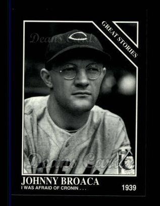 1994 Conlon #995   -  Johnny Broaca Great Stories