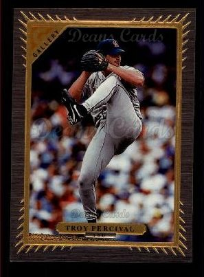 1997 Topps Gallery #140  Troy Percival
