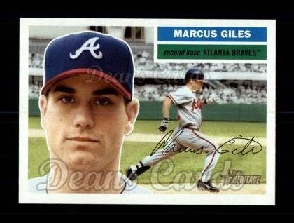 2005 Topps Heritage #364  Marcus Giles