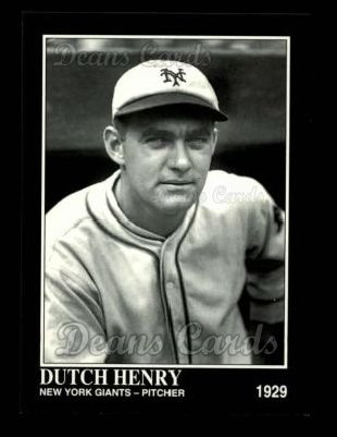 1993 Conlon #783  Dutch Henry