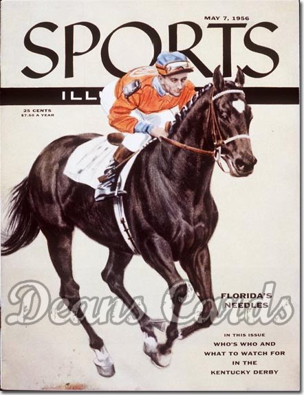 1956 Sports Illustrated - With Label   May 7  -  Needles & Dave Erb Jockey
