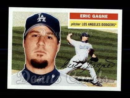 2005 Topps Heritage #225  Eric Gagne