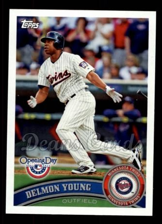 2011 Topps Opening Day #194  Delmon Young