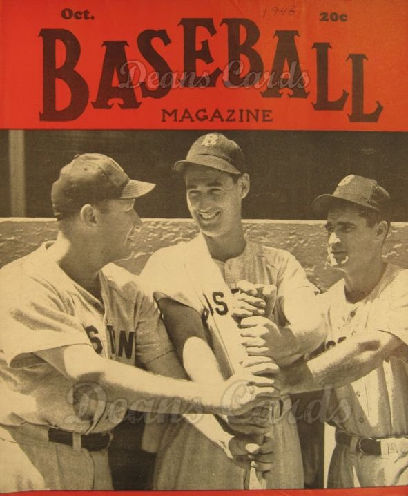 1946 Baseball Magazine    October