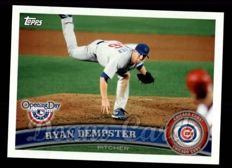 2011 Topps Opening Day #17  Ryan Dempster
