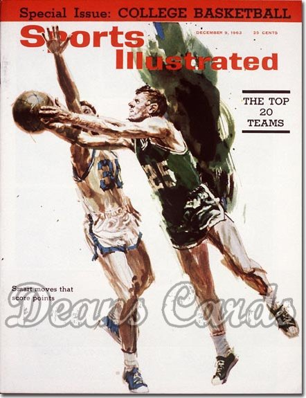 1963 Sports Illustrated - With Label   December 9  -  Frank Ramsey Boston Celtics