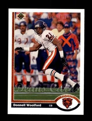 1991 Upper Deck #505  Donnell Woolford