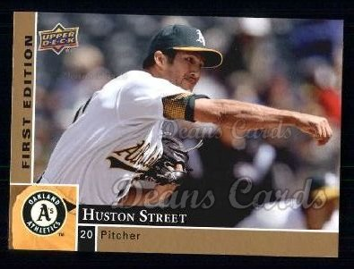 2009 Upper Deck First Edition #222  Huston Street