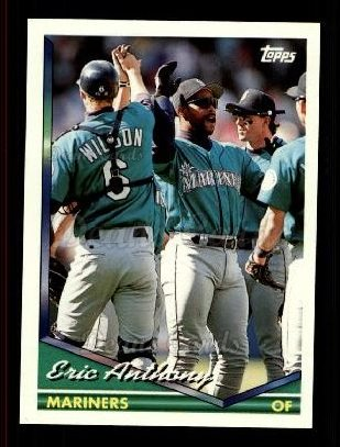 1994 Topps Traded #27 T Eric Anthony