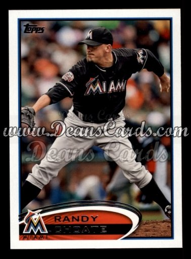 2012 Topps Update #107  Randy Choate