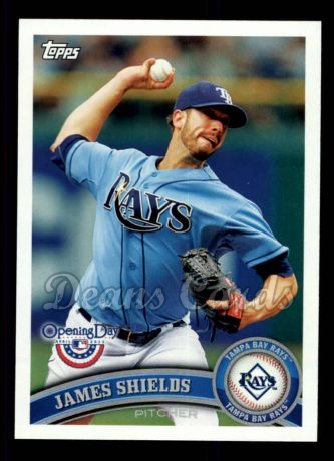 2011 Topps Opening Day #96  James Shields