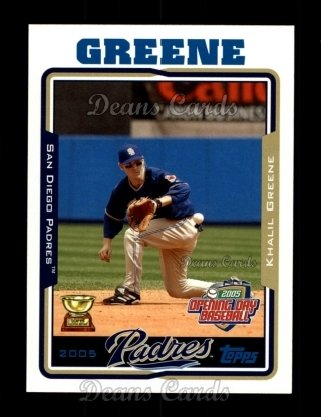 2005 Topps Opening Day #61  Khalil Greene