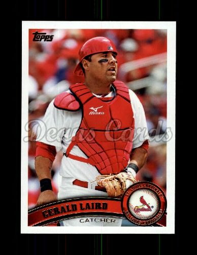 2011 Topps Update #69  Gerald Laird