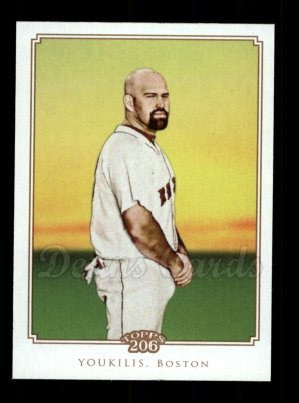 2010 Topps 206 #286  Kevin Youkilis