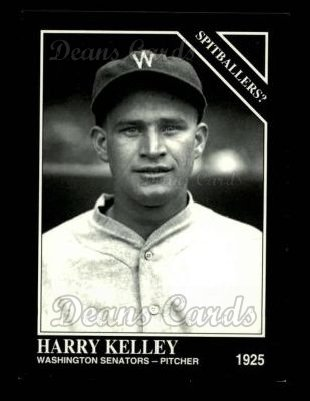 1993 Conlon #721   -  Harry Kelley Accused Spitballers