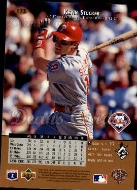 1996 Upper Deck #173  Kevin Stocker