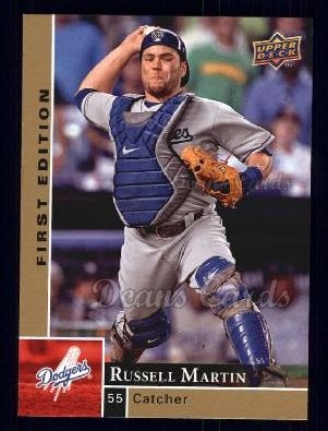 2009 Upper Deck First Edition #150  Russell Martin
