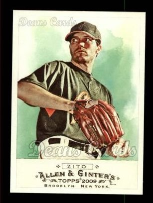 2009 Topps Allen & Ginter #123  Barry Zito