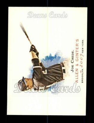 2007 Topps Allen & Ginter #234  Joe Crede