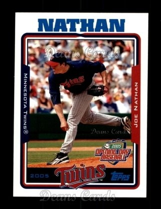 2005 Topps Opening Day #123  Joe Nathan