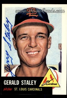 1991 Topps 1953 Archives #56  Gerry Staley